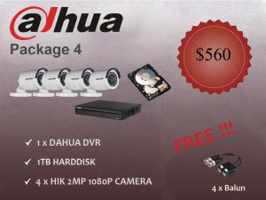 Dahua Outdoor Camera Package 4