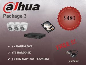 Dahua CCTV Package