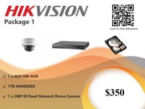 Hikvision IP Camera Package 1