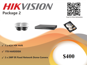 Hikvision IP Camera Package 2